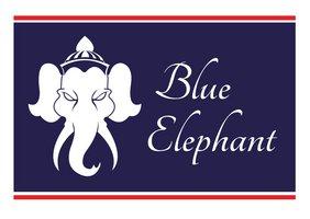 Logo Blue Elephant - Restaurant Eberbach