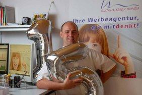 Markus Slaby zum 15-jährigen Jubiläum