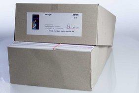Lieferung Flyer im Karton