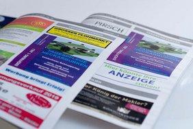 Werbeanzeige für neue Tagespflege in Neckarburken