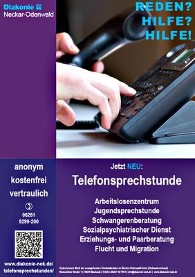 Werbeplakat Diakonie NOK Mosbach