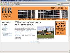 TYPO3 Webseite für Gewerbebetrieb