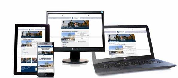responsive TYPO3 Webseite