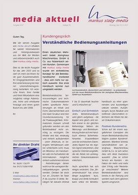 media aktuell 4-2007 - Titelseite