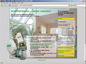 Screenshot www.schreinerei-grosskinsky.de