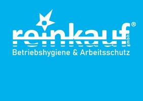 Inverses Logo reinkauf gmbh