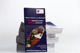 Flyer Lieferservice Blue Elephant Eberbach