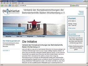 Screenshot TYPO3 Webseite