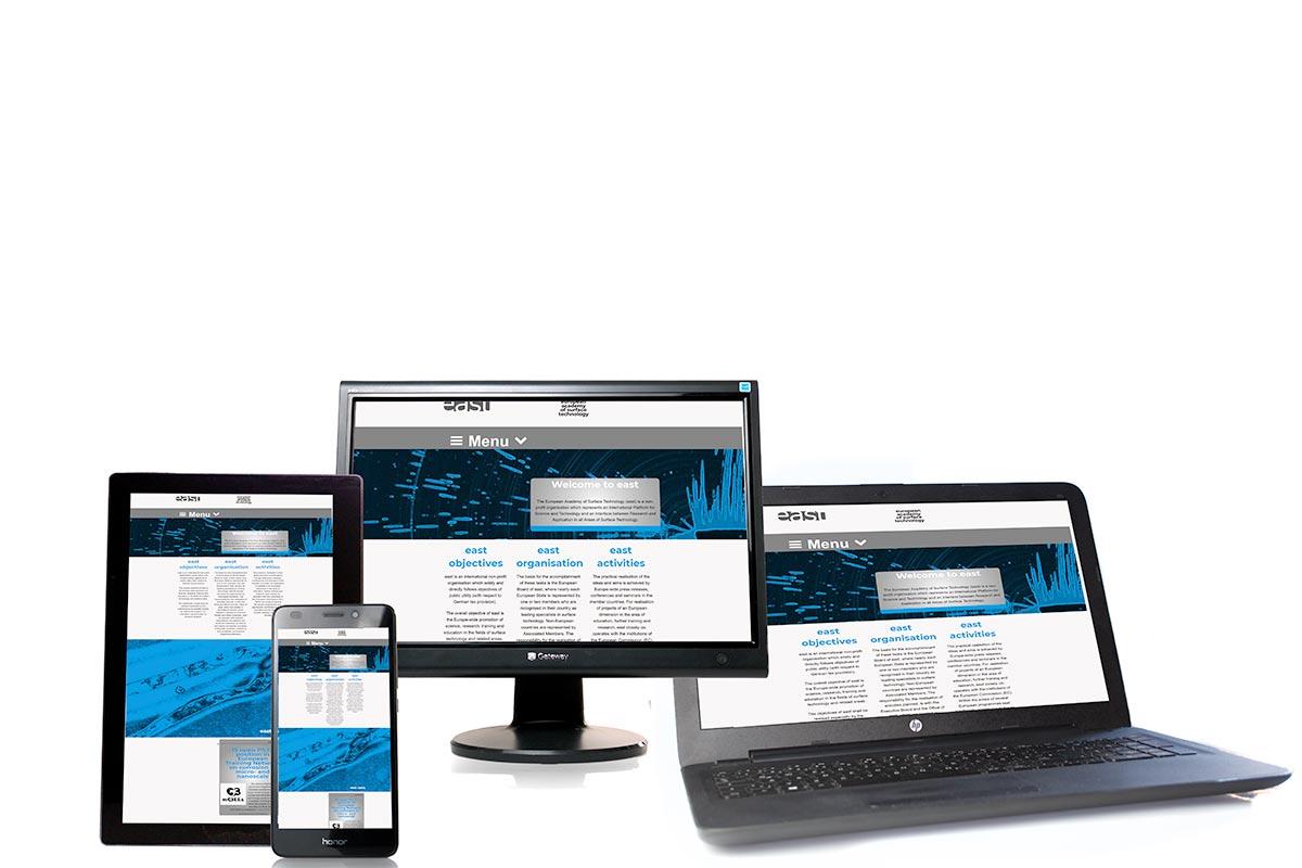 responsive Webseite mit TYPO3