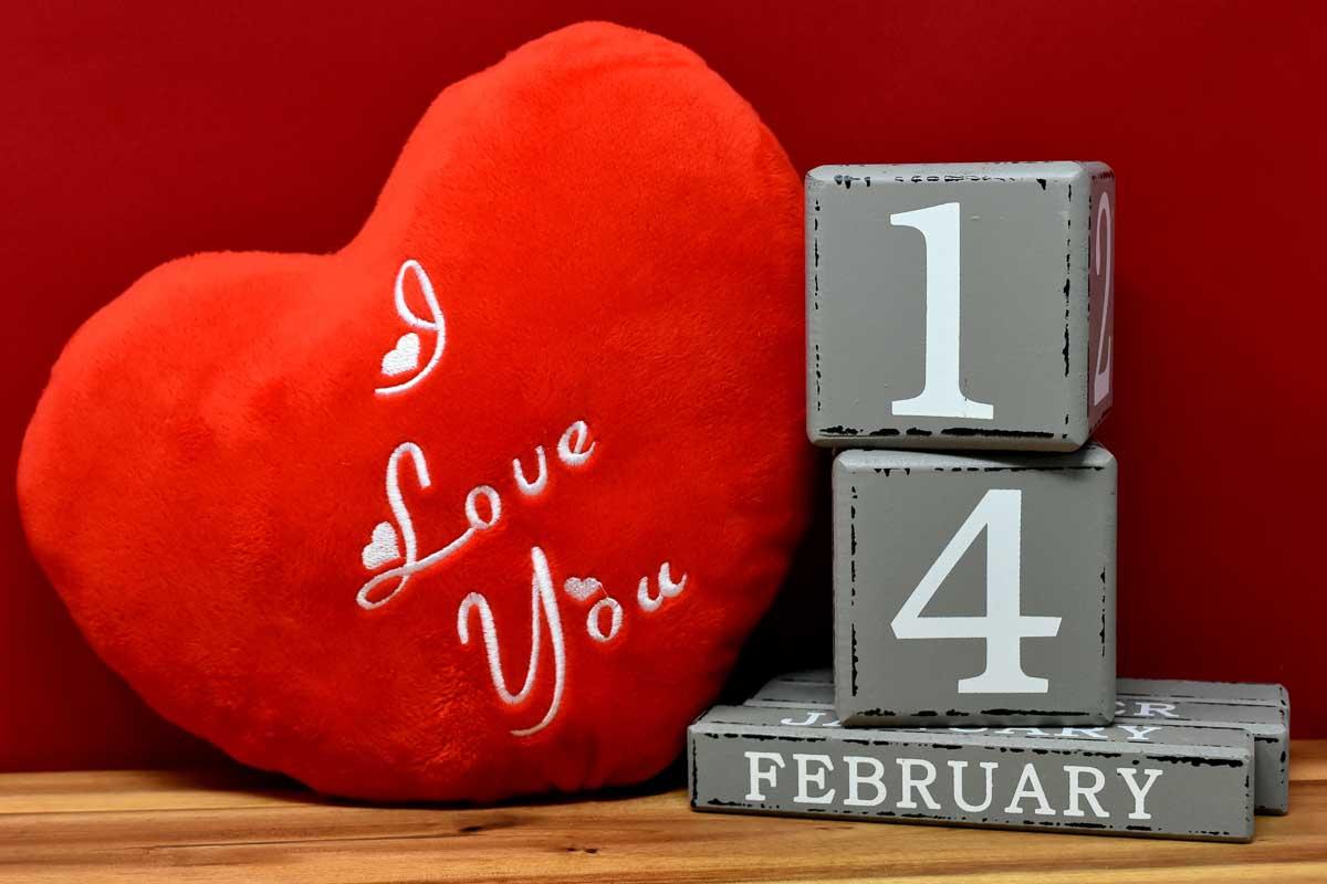 Werbung Valentinstag