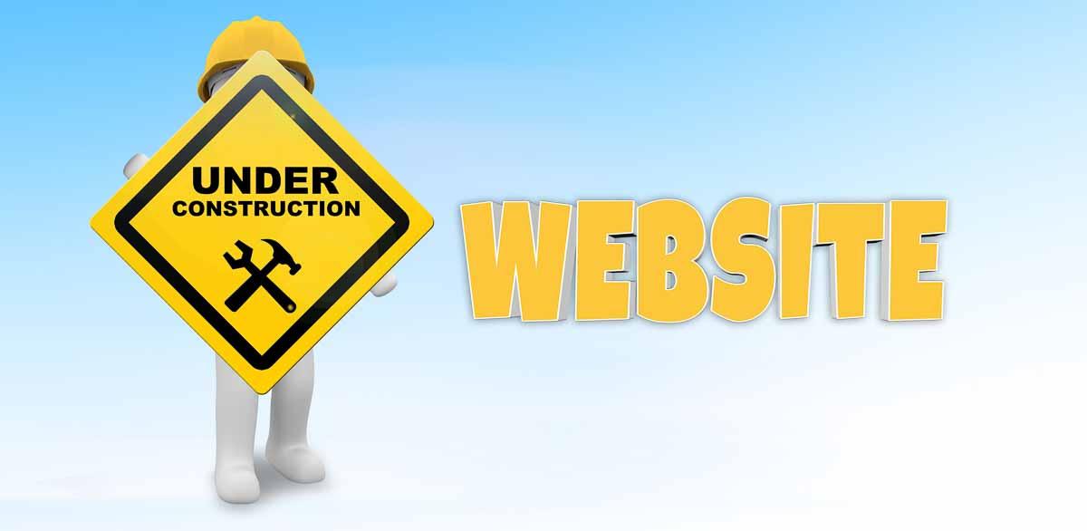 veraltete Webseiten