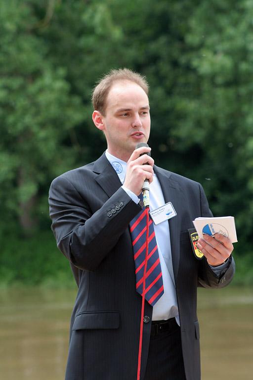 Moderator Markus Slaby