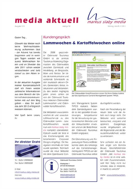 media aktuell 4-2011: QR-Codes