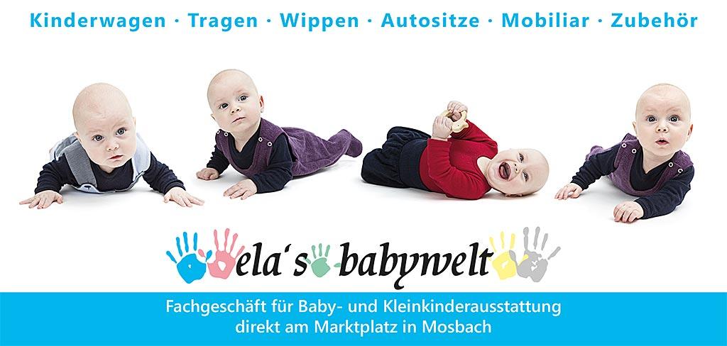 Flyer Ela's Babywelt - Seite 1