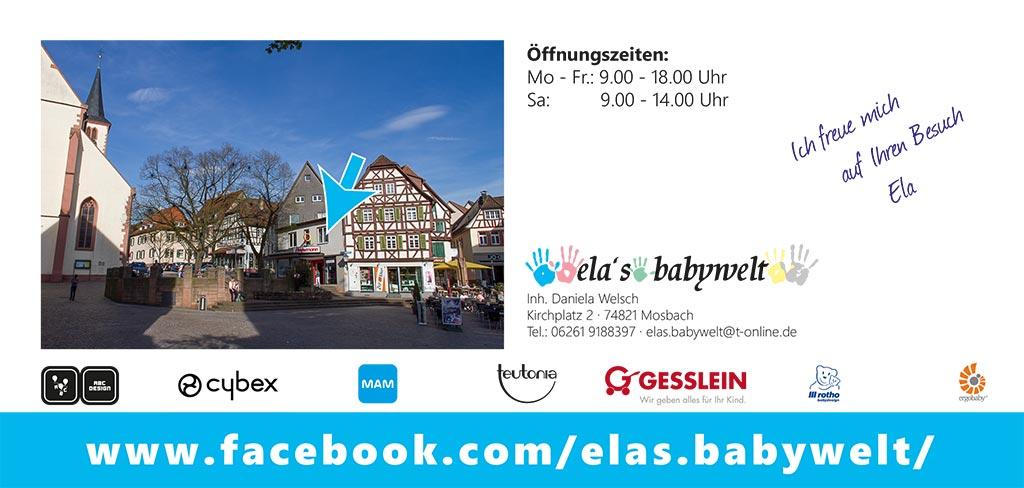 Flyer Ela's Babywelt - Seite 2