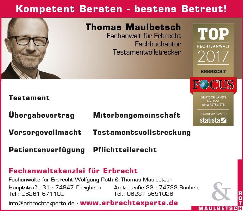 Tunnel-Anzeige Roth & Maulbetsch
