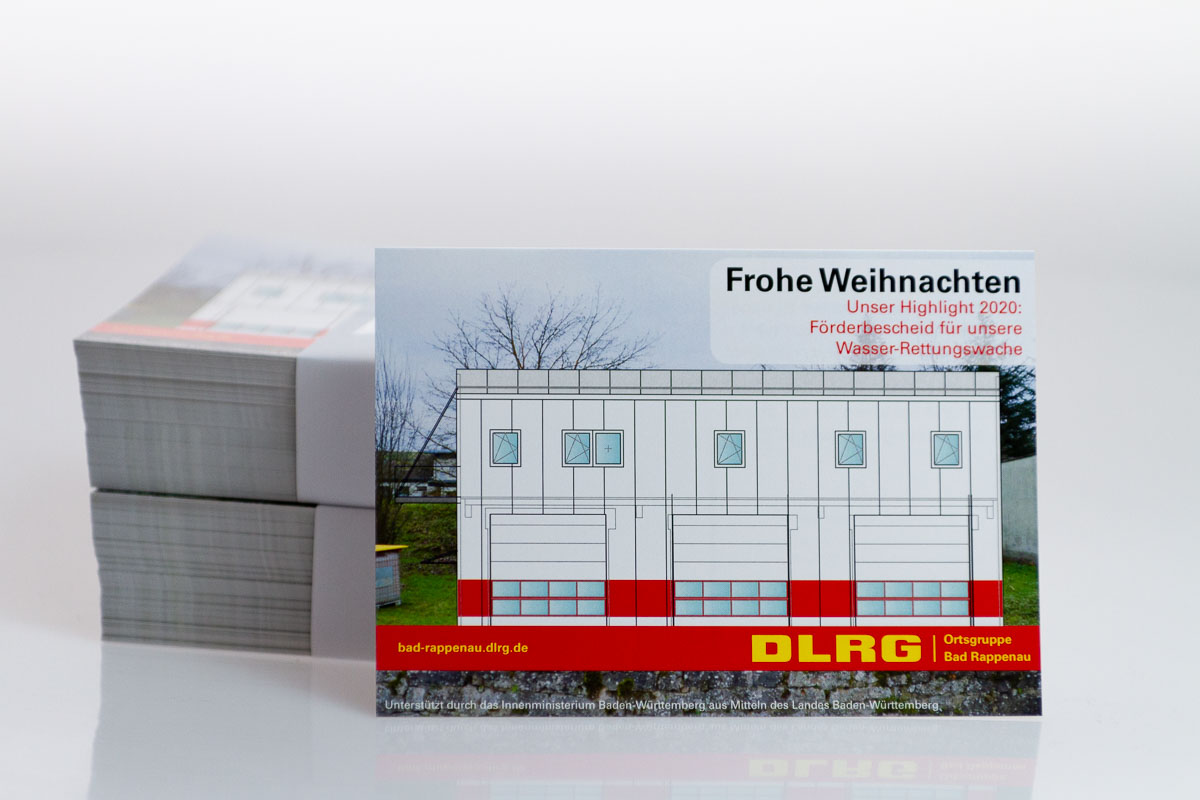 Weihnachtskarten DLRG Bad Rappenau