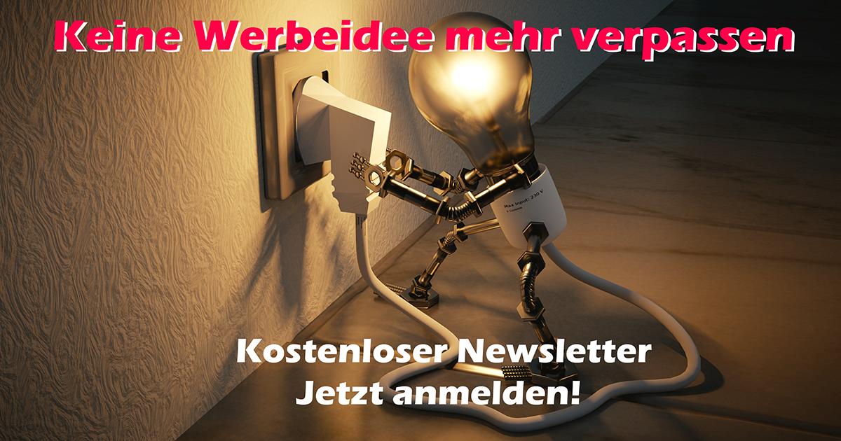 Newsletter Werbeideen