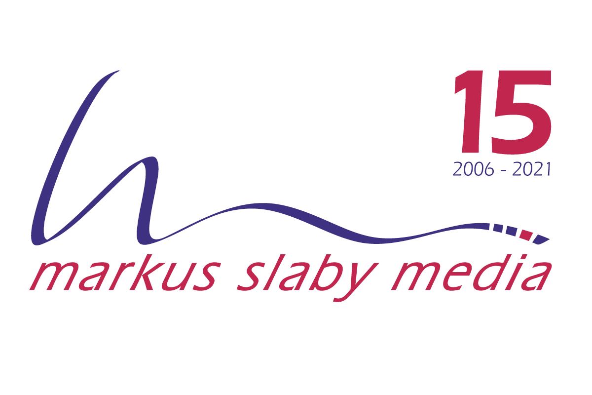 Jubiläumslogo Werbeagentur markus slaby media